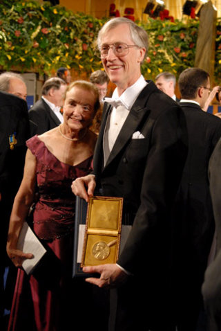 John C. Mather and wife
