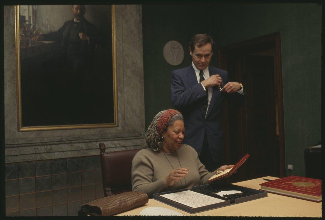 Toni Morrison at the Nobel Foundation H 0001_ 041