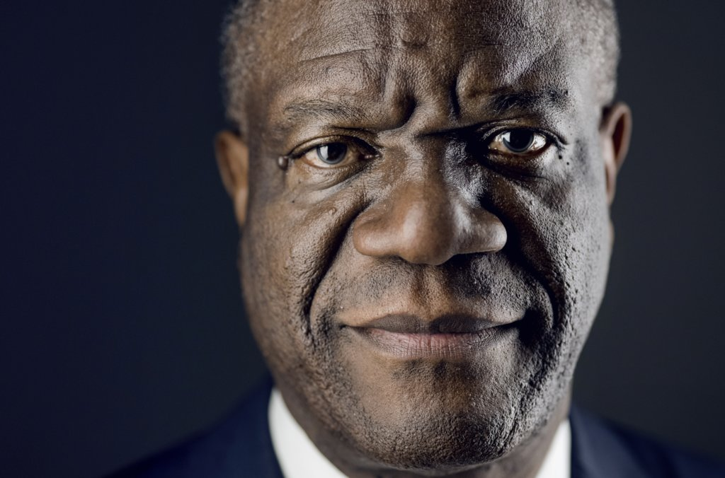 Denis Mukwege official Nobel portrait
