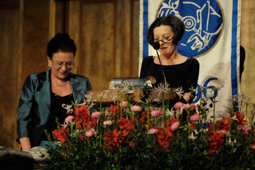 Herta Muller delivers her Banquet speech