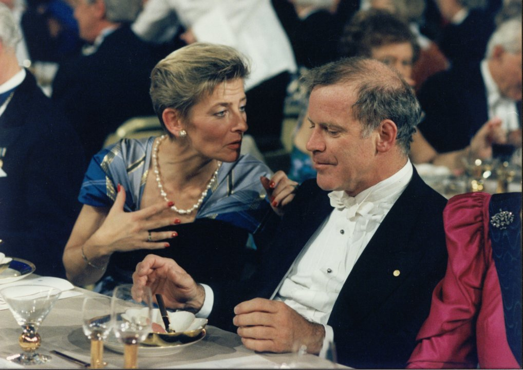 Kary B. Mullis at Nobel Banquet