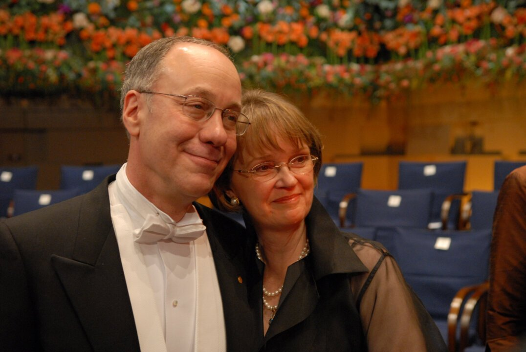 Roger B. Myerson and his wife