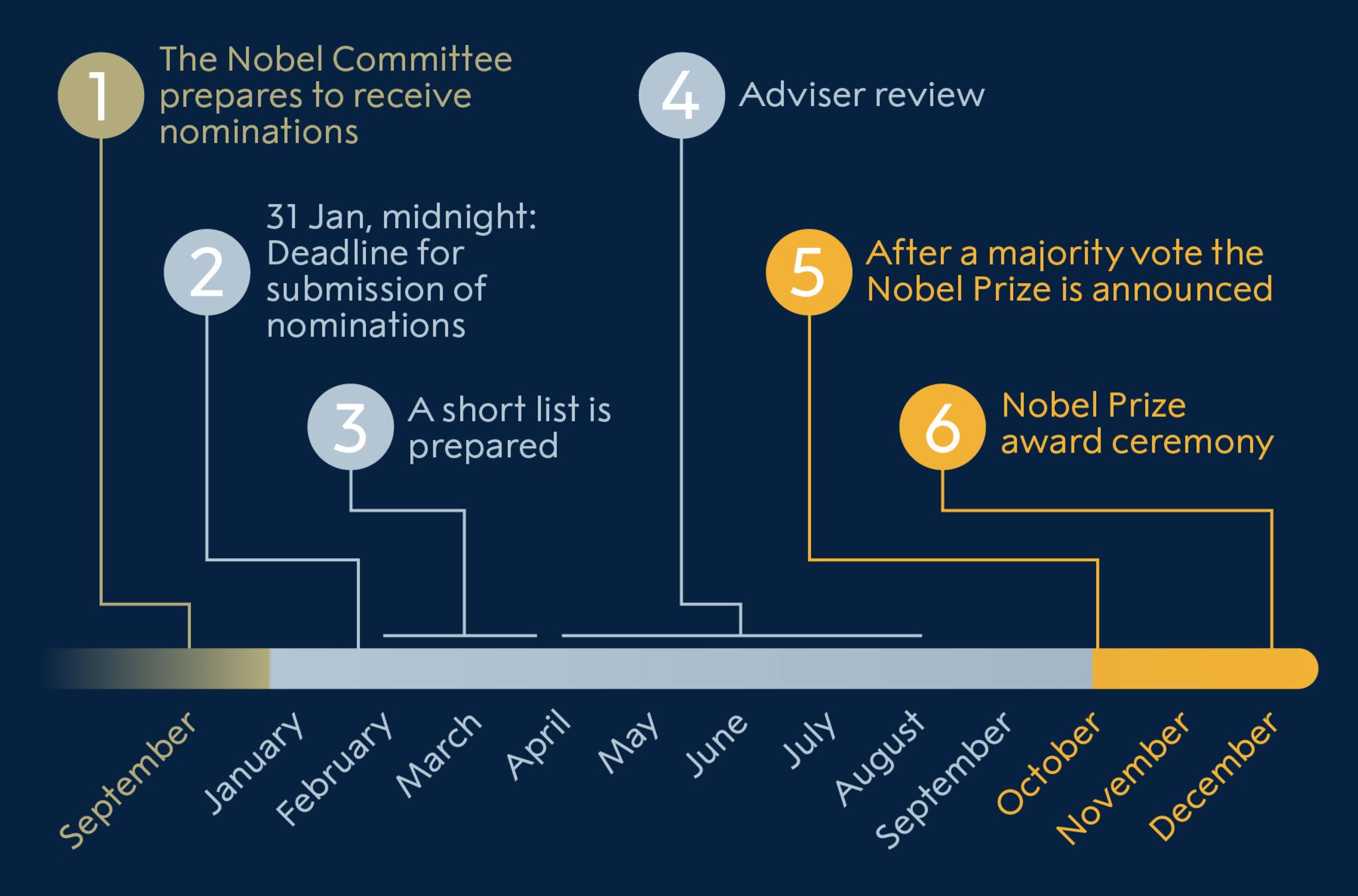 Peace Prize nomination process