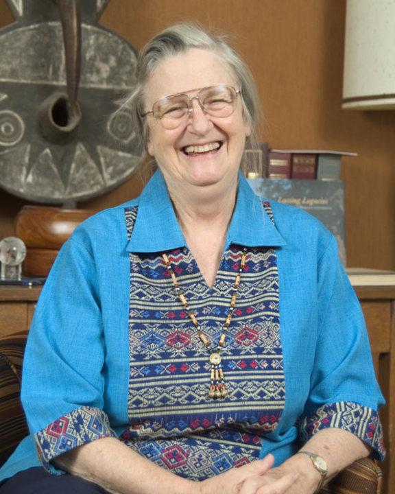 Portrait of Elinor Ostrom