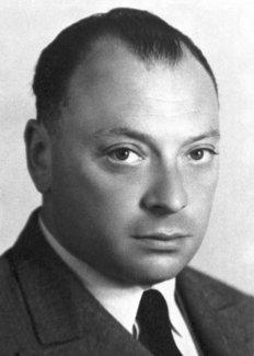 Wolfgang Pauli, circa 1945 - Nobel Foundation photo