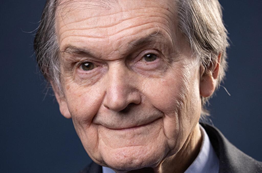 Roger Penrose preliminary portrait