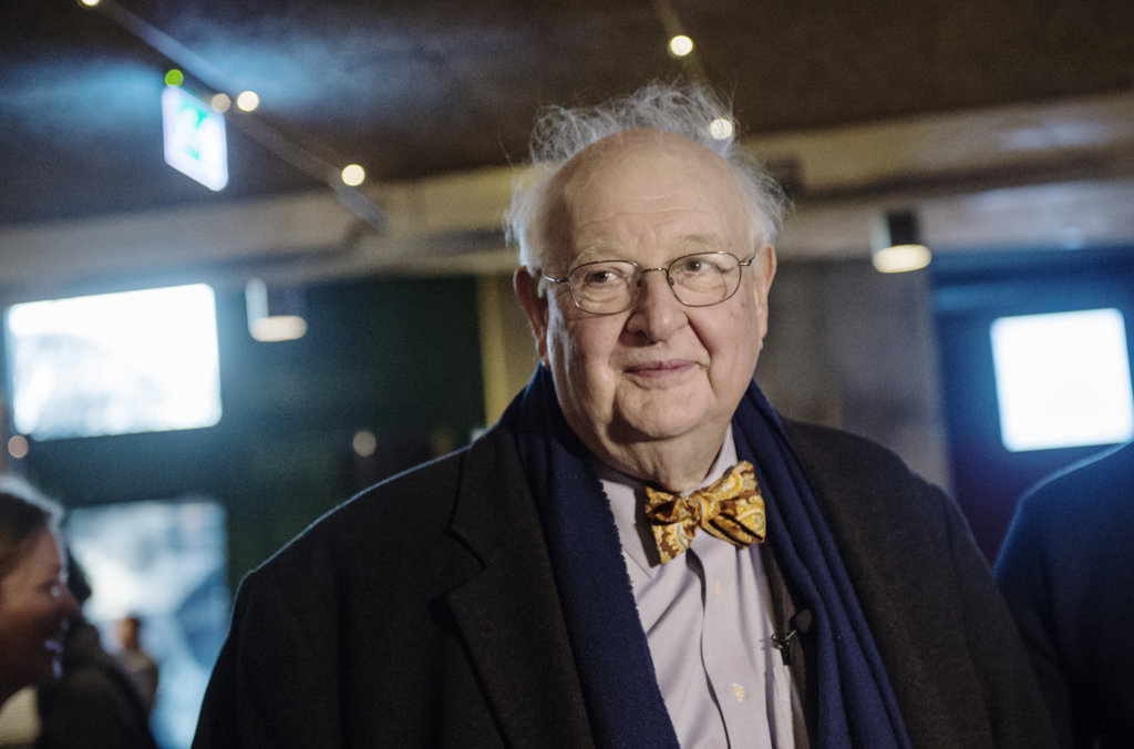 Angus Deaton visiting the Vasa Museum during the Nobel week in Stockholm.