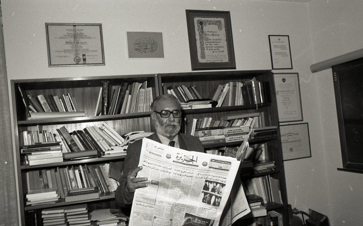 Abdus Salam in 1983