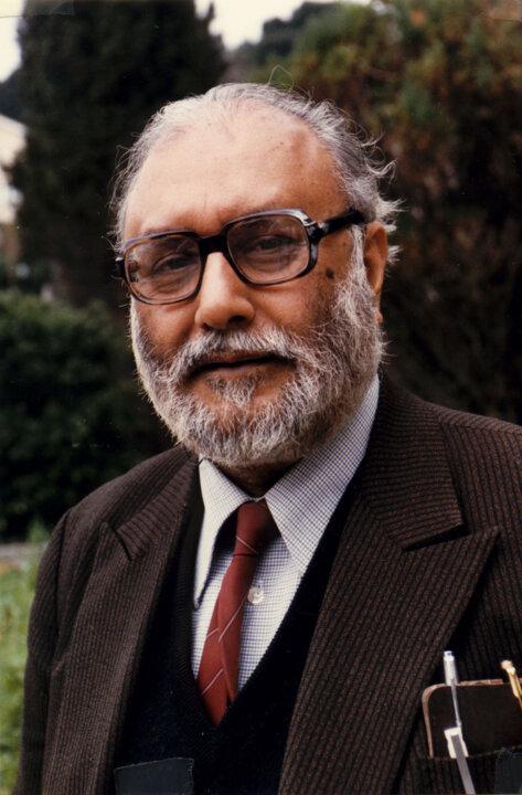 Abdus Salam in 1986