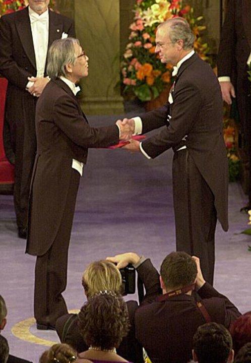 Hideki Shirakawa and His Majesty the King