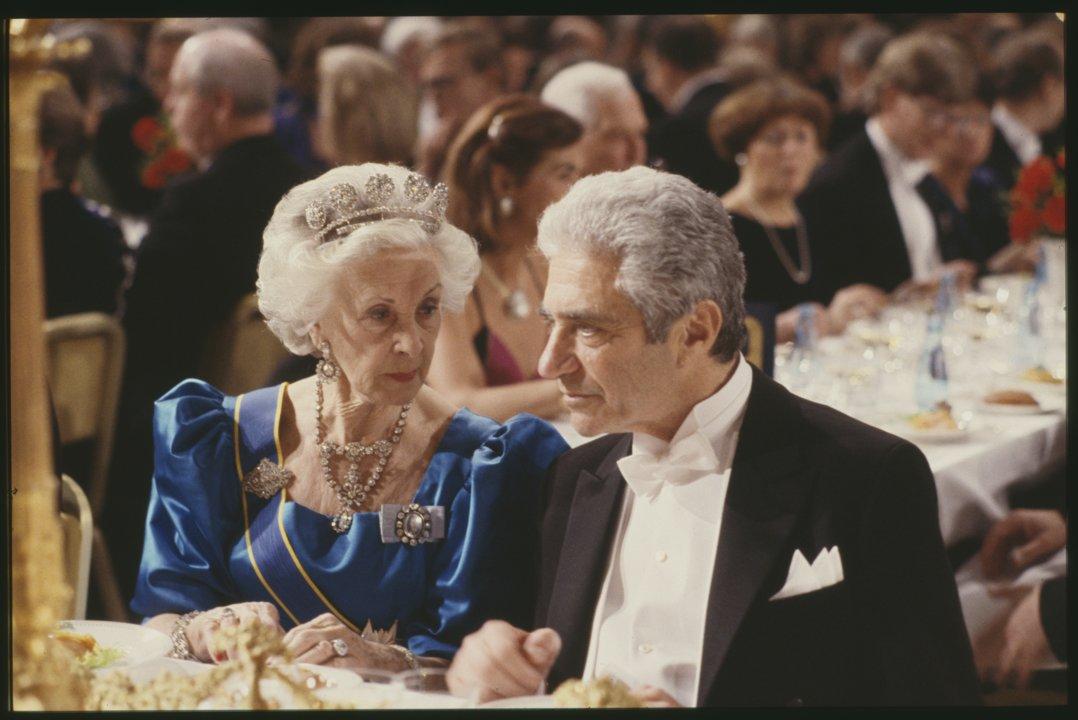 Jack Steinberger at the Nobel Banquet
