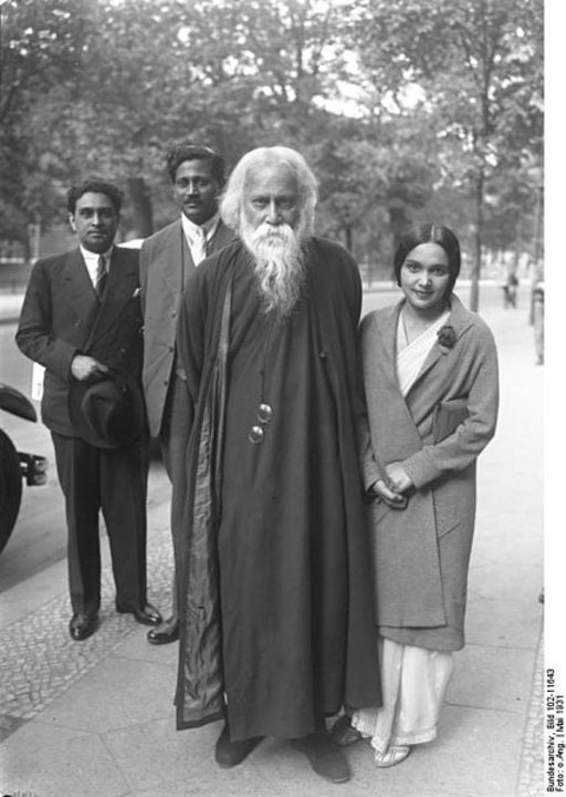 Rabindranath Tagore on his 70th birthday