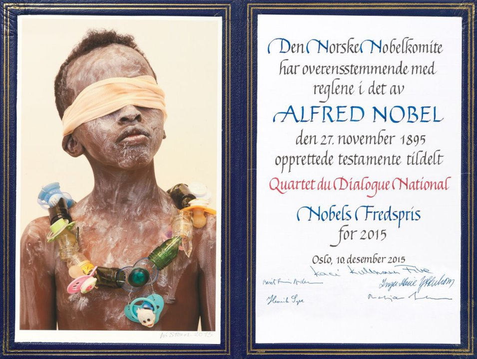 National Dialogue Quartet   - Nobel Diploma
