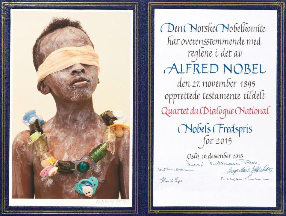 National Dialogue Quartet   - Nobel Diploma