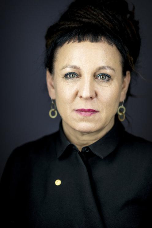 Olga Tokarczuk official Nobel portrait