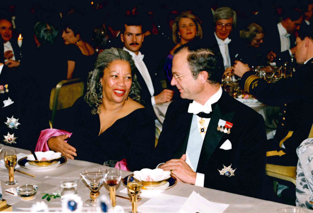 Toni Morrison at the banquet 1993