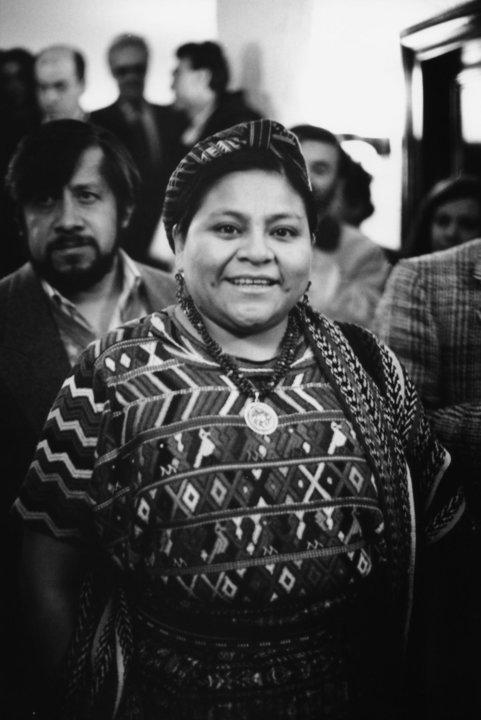 Portrait of Rigoberta Menchú Tum