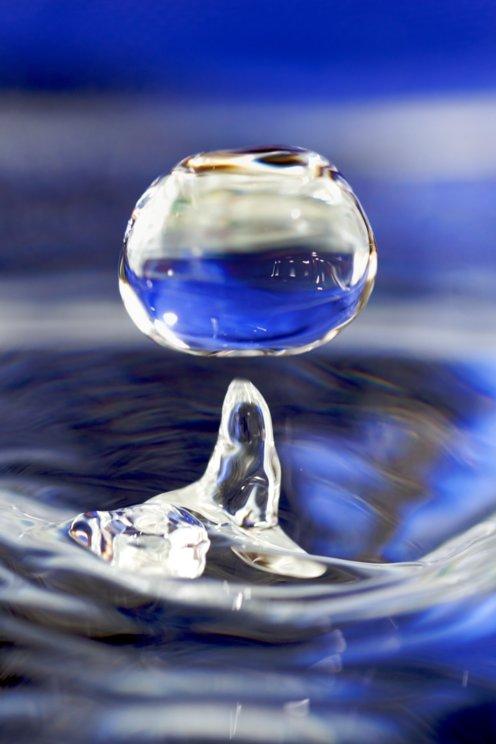 Water drop 001 wikimedia commons
