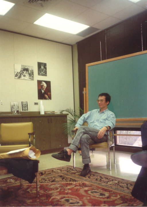Liu Xiaobo at the University of Hawaii