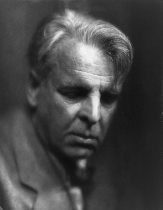 Portrait of William Butler Yeats.