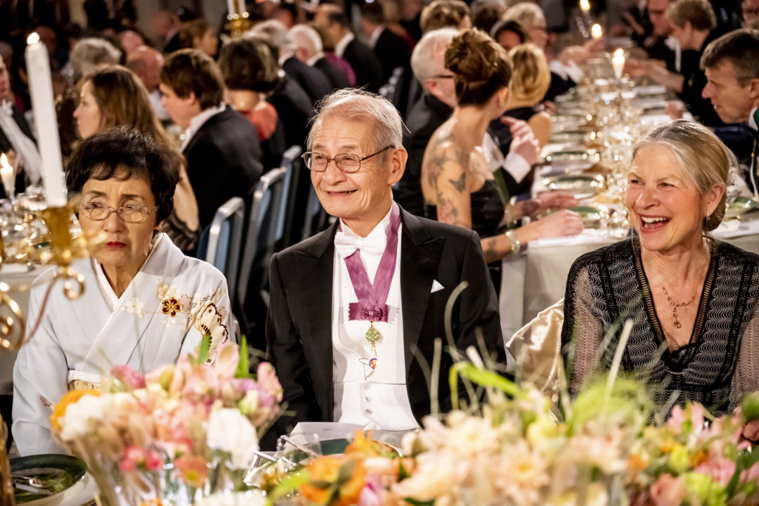 Akira Yoshino at the Nobel Banquet
