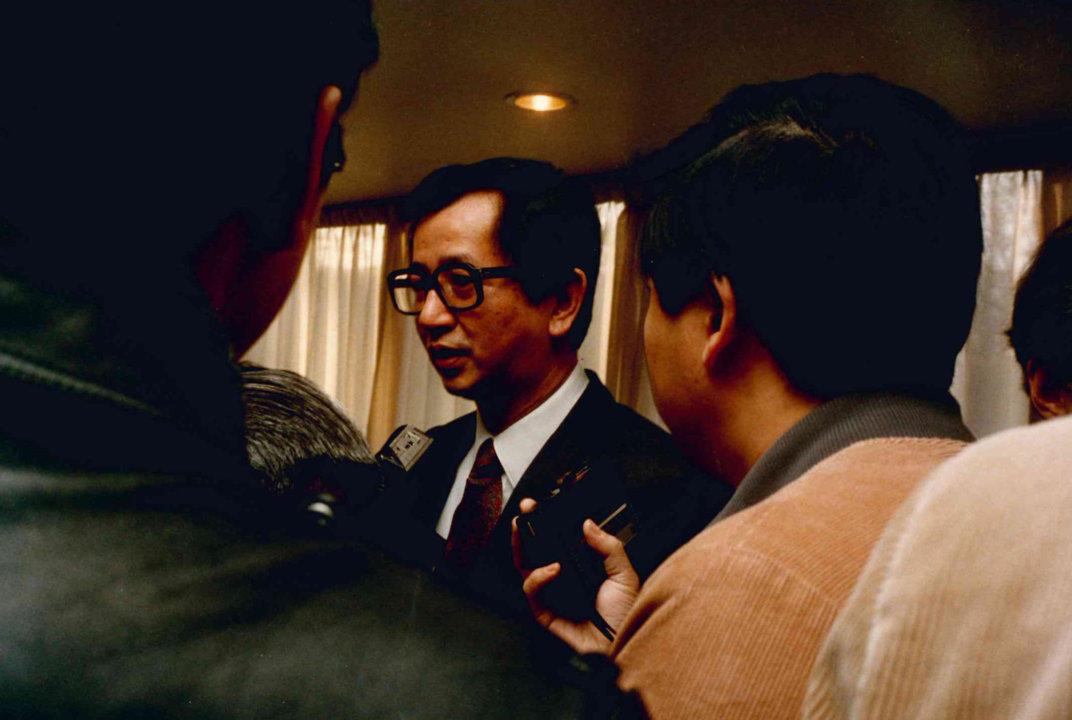 Yuan T. Lee at KVA in 1986