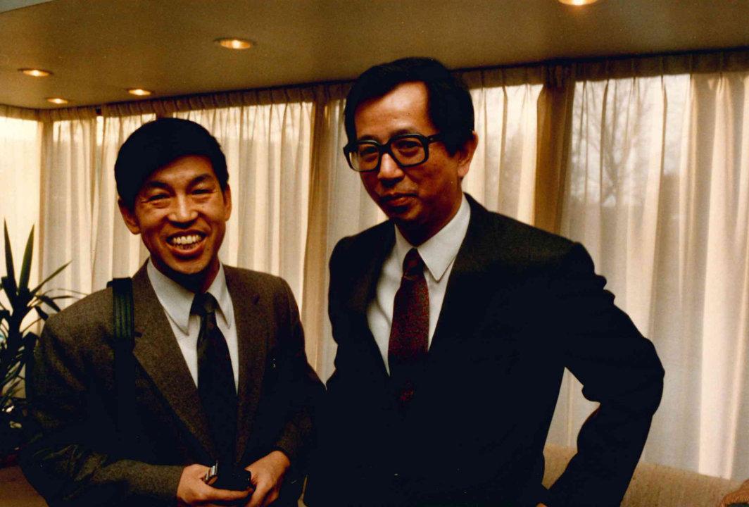 Yuan Lee at KVA in 1986
