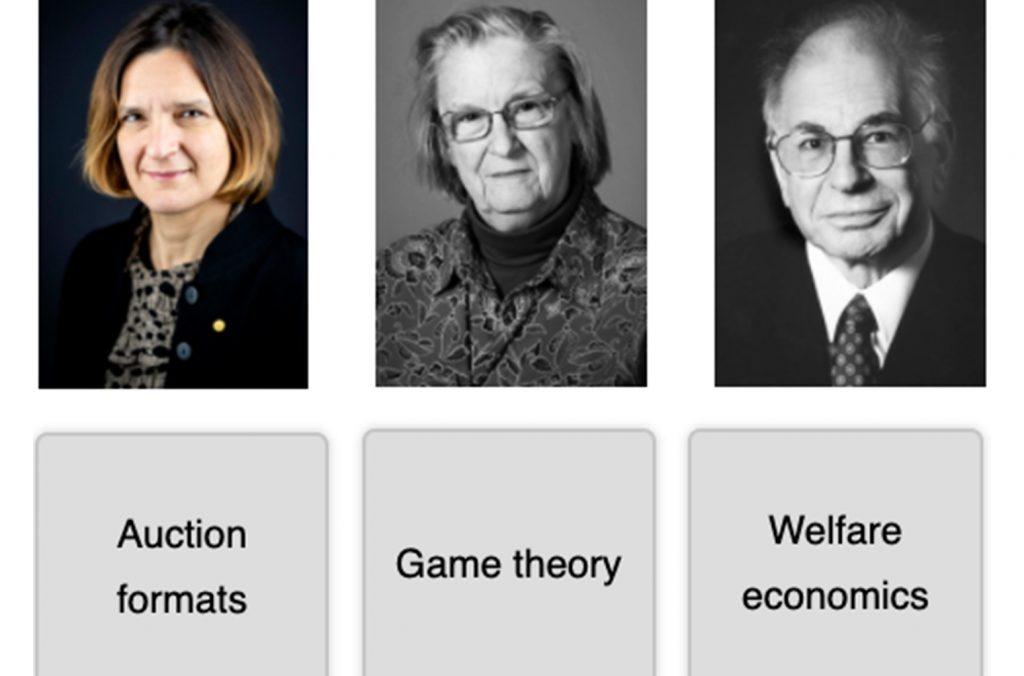Matching pairs economic sciences