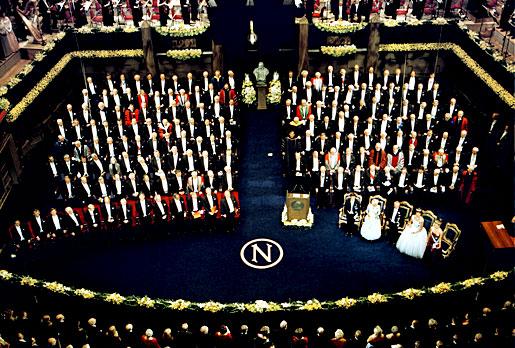 2001 Nobel Prize Award Ceremony