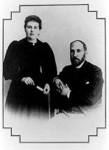 Cajal and his wife
