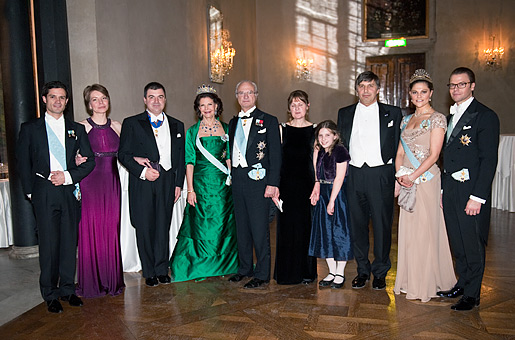 Laureates and Royalty at the Nobel Banquet
