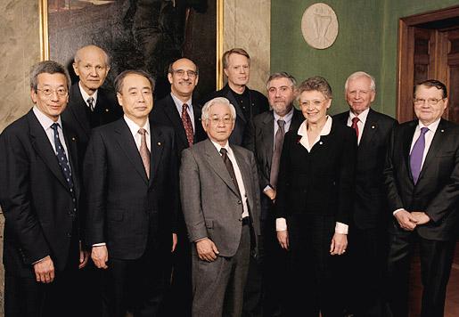 All 2008 Nobel Laureates