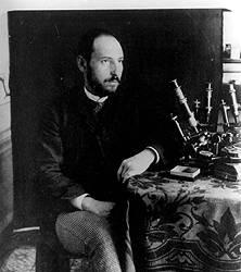 self-portrait of Cajal