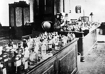 Golgi in laboratory