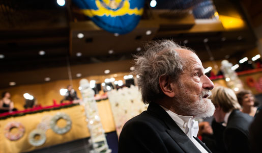 Lloyd S. Shapley at the Nobel Prize Award Ceremony at the Stockholm Concert Hall
