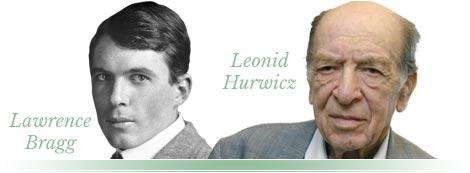 Lawrence Bragg, Leonid Hurwicz