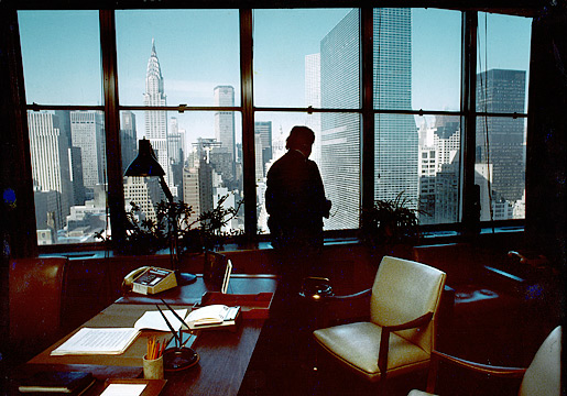 Office in New York.