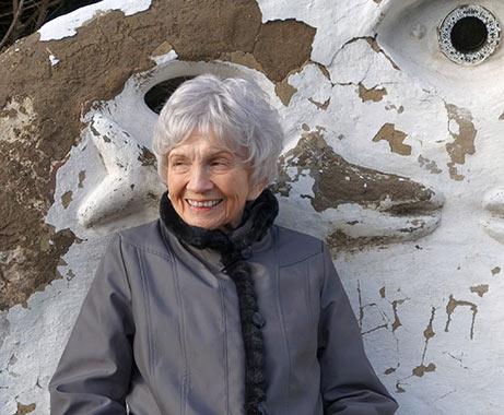 Portrait of Alice Munro. Photo: Sheila Munro, Copyright © The Nobel Foundation