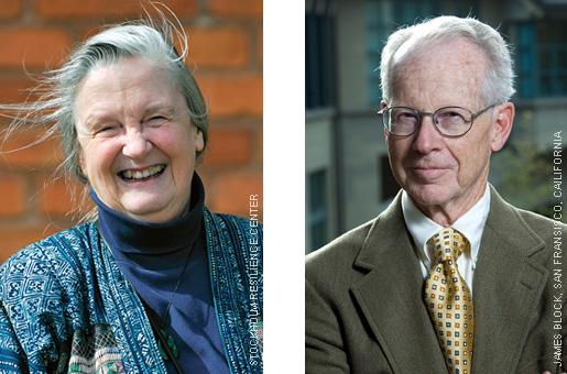 Elinor Ostrom and Oliver E. Williamson