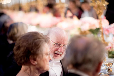 William C. Campbell at the Nobel Banquet.