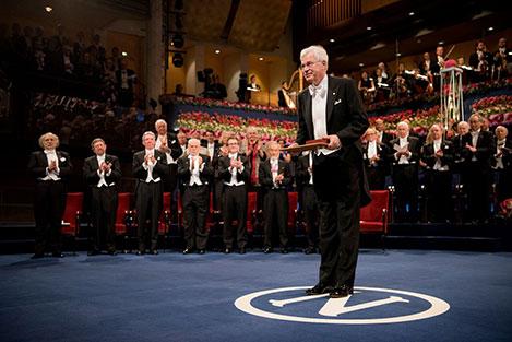 Bengt Holmström at the Nobel Prize Award Ceremony