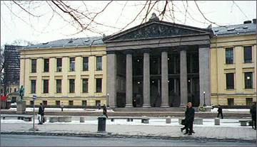 auditorium of University of Oslo
