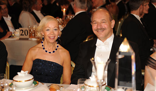 Bruce A. Beutler and Psychiatrist Ylwa Westerberg at the Nobel Banquet