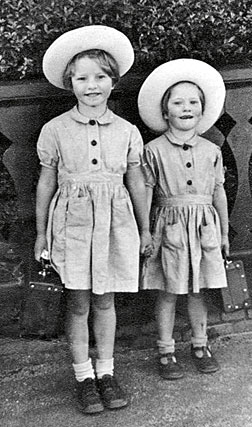 Elizabeth Blackburn and her sister Katherine