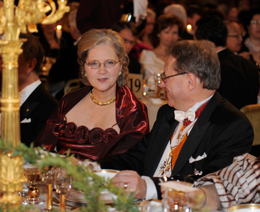 Elizabeth H. Blackburn at the Nobel Banquet