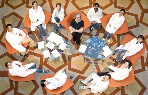 The Blackburn laboratory group