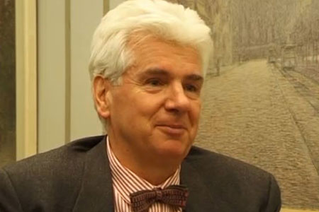 Günter Blobel during the interview