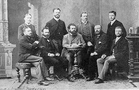 Svante Arrhenius and the Boltzmann group in Graz, 1887.