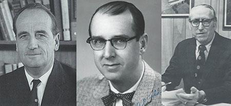 Three mentors.