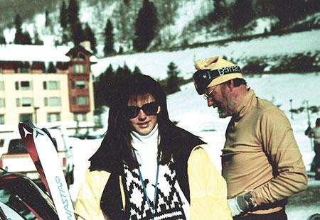 Skiing in Colorado.